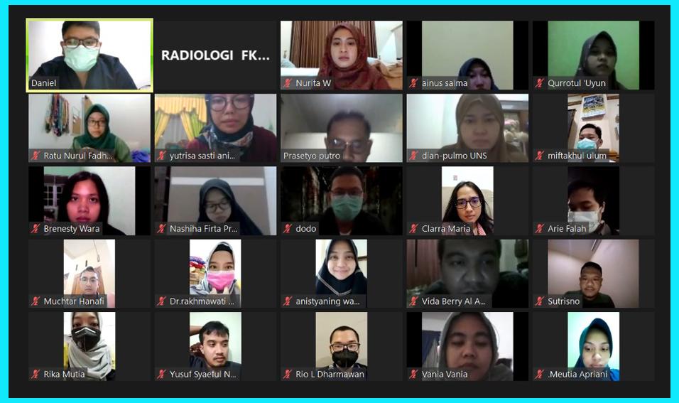 Hindari Kerumunan, Prodi Radiologi FK UNS Terapkan Kuliah Daring