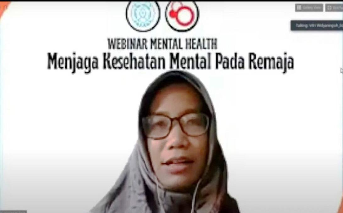 Research Group (RG) Disease Control FK UNS Gelar Webinar Bertema Menjaga Kesehatan Mental Pada Remaja